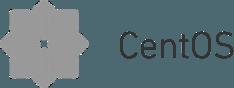 Grey CentOS logo