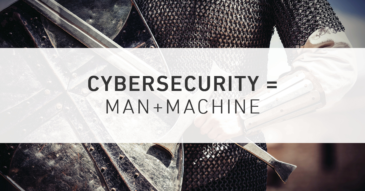 Solving Cybersecurity Issues Equals Man Plus Machine - Armor