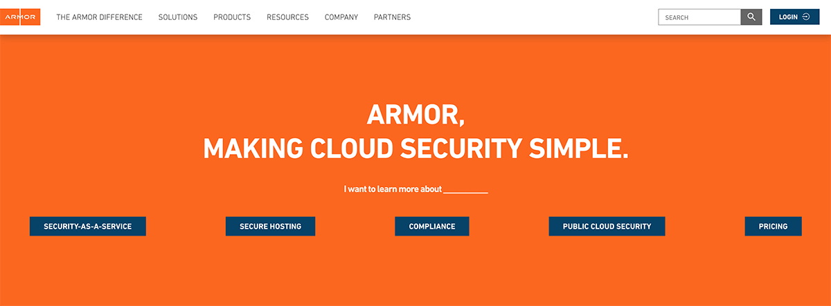 A Cloud Security and Compliance Solutions Company - Armor