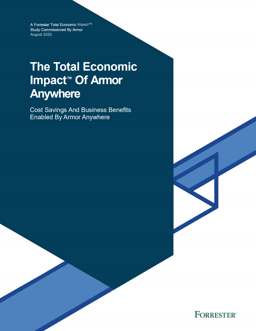 The Total Economic Impact Report of Armor Anywhere